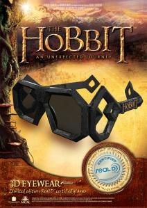 Gafas 3D de El Hobbit